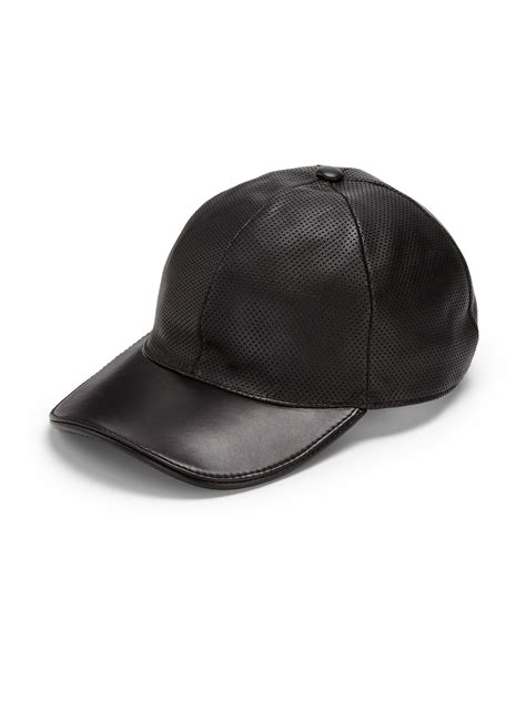 Baseball Hat Black gucci leather baseball cap gucci leather baseball hat in
