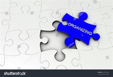 text on jigsaw puzzle piece stock illustration 231823684