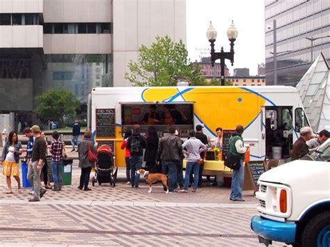 boston design center food truck schedule boston expands food truck program through winter
