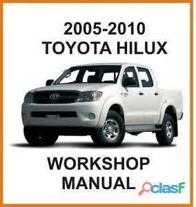 manual de taller toyota hilux 2005 al a 241 o 2010 en