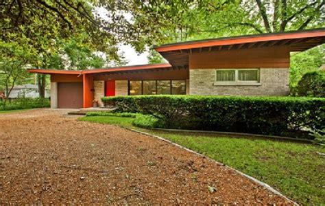 1950s modern home design on the market 1950s vladimir novak designed midcentury modern property in east glenview