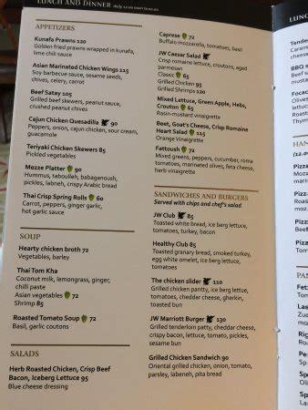 marriott room service menu room service menu picture of jw marriott hotel cairo cairo tripadvisor