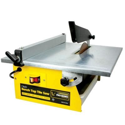 pro series 7 in 3 4 hp tile saw tcut7ul the home depot