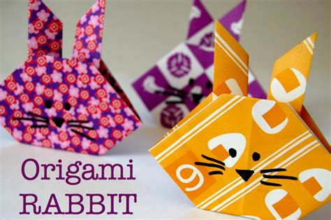 Rabbit Origami Easy - origami kit for tinkerlab