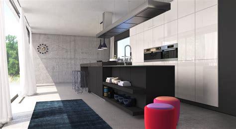 singleküche wohnzimmer design ideen