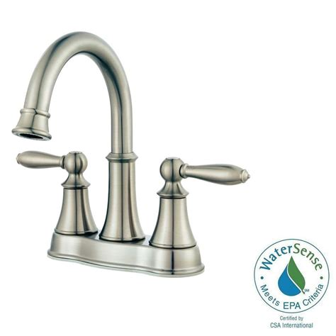 pfister courant 4 in centerset 2 handle bathroom faucet
