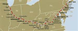 Cardinal hoosier state amtrak route map