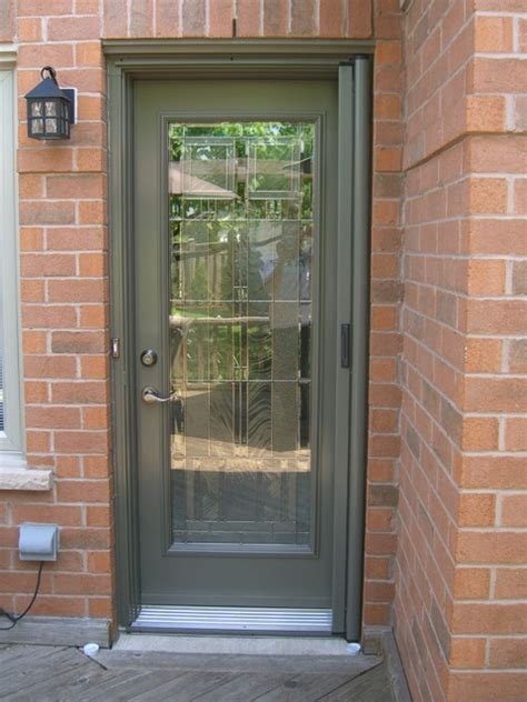 Front Doors Canada Exterior Door With Screen Entry Door Retractable Screens Contemporary Screen Doors Toronto By