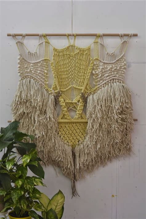 Macrame Weaving - 448 best macrame images on tapestries closure