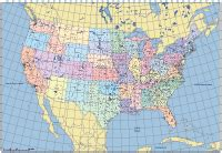 map of us states with longitude and latitude us map with cities latitude and longitude www