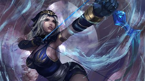 What Is A Bow Window 21 ashe league of legends wallpapers hd free download