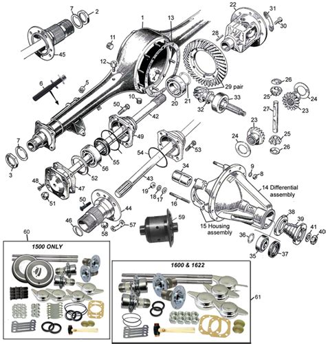 rear axle assembly diagram differential crown wheel available via pricepi shop