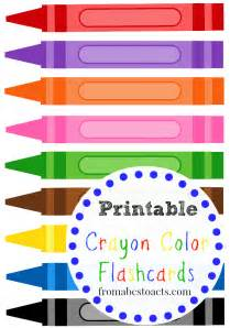 color flashcards best of 2014 crafts and activities from abcs to acts