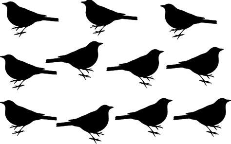 black birds clipart clipground