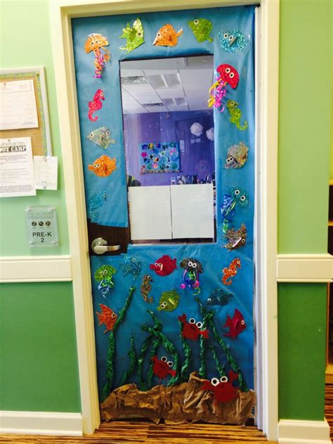 the sea classroom theme decoration the sea classroom door decor classroom doors
