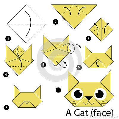 origami chat 233 par 233 comment faire 224 origami un