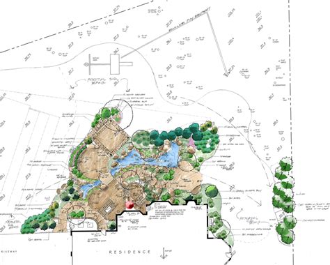 Earth Contact House Plans landscape design site analysis amp master plan surrounds