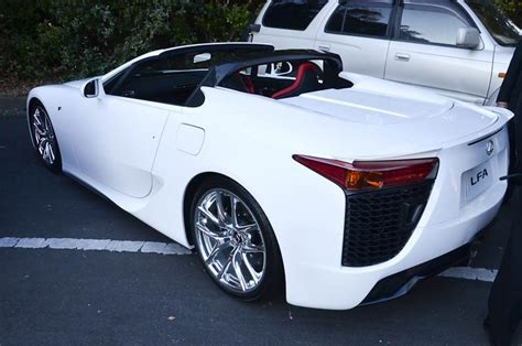 lexus lfa convertible the 2012 lexus lfa spyder the last of it s kind