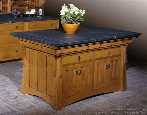 mission style kitchen island pictures of kitchens traditional light wood kitchen