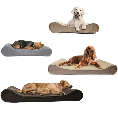 pet beds amazon amazon com furhaven pet medium microvelvet luxe lounger