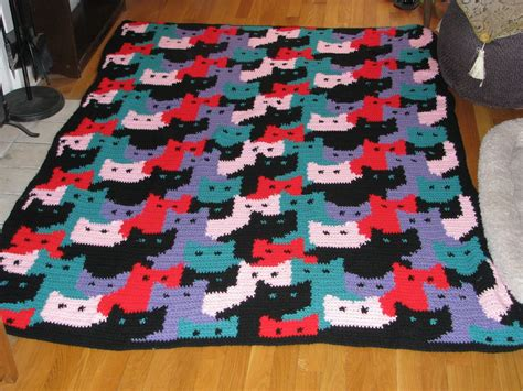 pattern for cat afghan cat blanket pattern free wallpapers crochet cat patterns