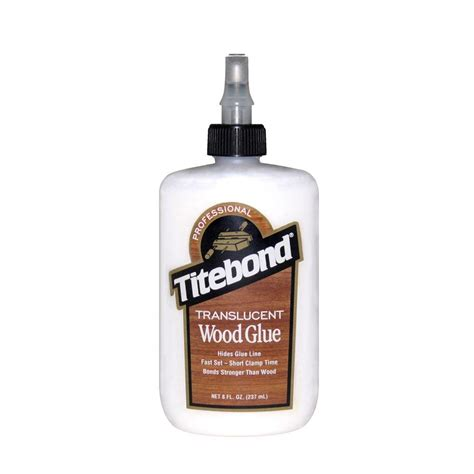 titebond 8 oz translucent wood glue 12 pack 6123 the