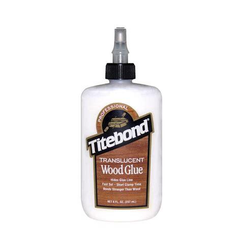 titebond 8 oz translucent wood glue 12 pack 6123 the