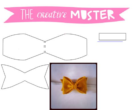 felt bow tie template felt bow tie template tcm sculpted tiny