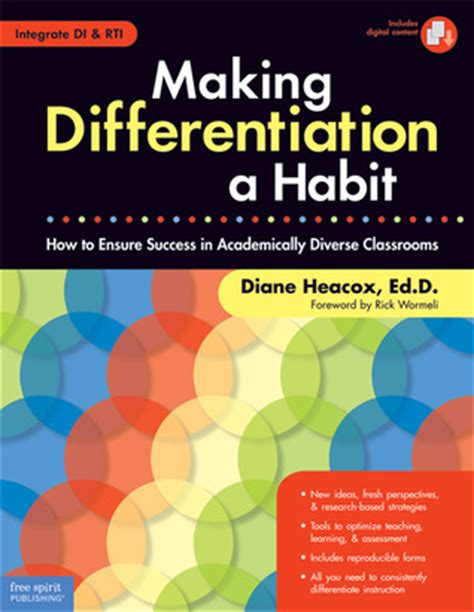 how to differentiate in academically diverse classrooms 3rd edition differentiation a habit how to ensure success in