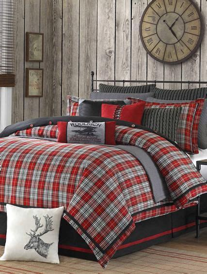 grey plaid bedding woolrich williamsport plaid 4 piece comforter set by woolrich red bedrooms boys