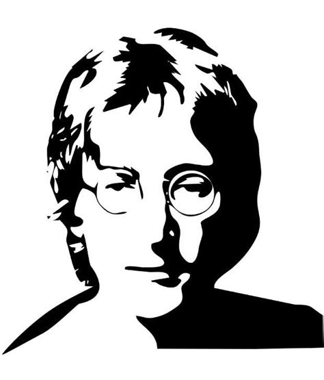 Buy Home Decor Items Online studio briana black john lennon line vector wall decor