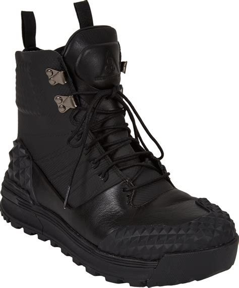 nike boot for nike lunarterra artkos sp winter boots in black for lyst