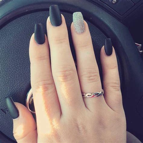 matte black nail designs the 25 best matte black nails ideas on matt