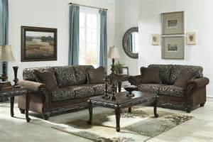 Traditional Furniture Styles Living Room Traditional Style Brown Sofa Seat Living Room Furniture Set