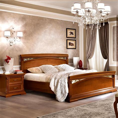 cherry wood bed frame treviso pediera ornate cherry or ash wood 5ft bed frame ebay
