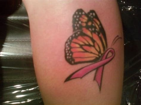 breast cancer butterfly tattoo pink ribbon butterfly picture at checkoutmyink
