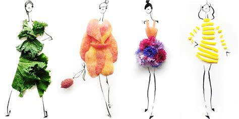 fashion illustration with food gretchen roehrs food and fashion illustrations on