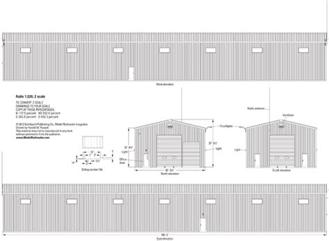 railroad house plans bath hammondsport rr enginehouse plans modelrailroader com