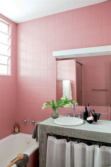 pink tile bathroom decorating ideas best 25 pink bathroom decor ideas on pinterest