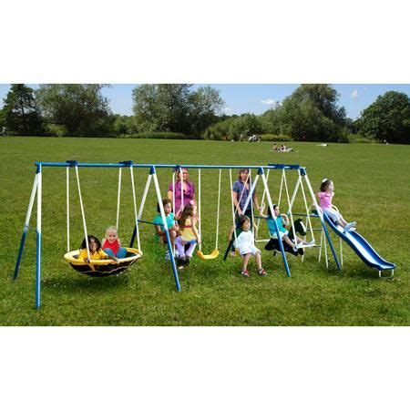 walmart swing sets for babies 17 best ideas about metal swing sets on pinterest swing