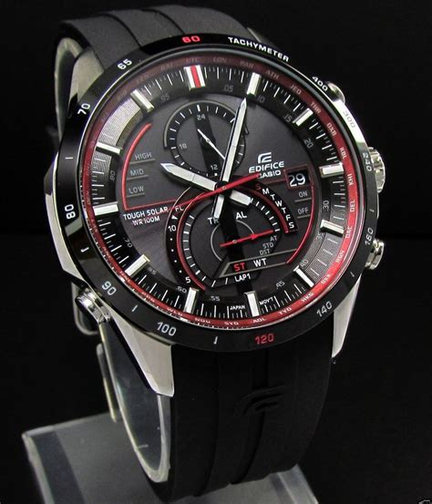 Jam Tangan Edifice Ef305d Original review jam tangan casio edifice tough solar eqs a500b