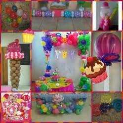 candyland balloon decor