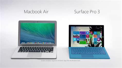 Mba Vs Mac by Surface Pro 3 と比べて Macbook Air をこき下ろすムービーをmicrosoftが