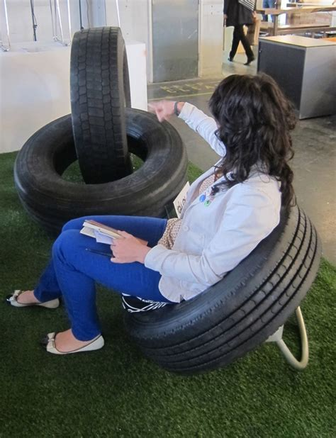 tire couch diy furniture from recycled automotive tires tyre