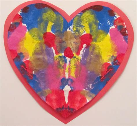 valentines painting top diy valentine s ideas crafts with for