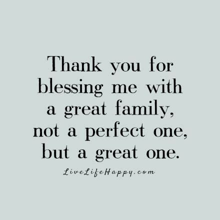 Blessed To Family Quotes