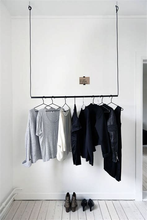 Clothes Pole For Wardrobe - 18 open concept closet spaces for storing and displaying