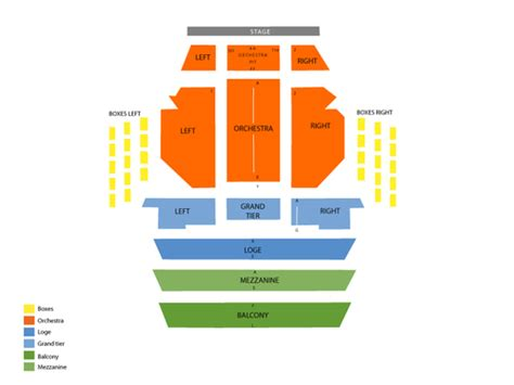 kravis center seating view kravis center dreyfoos concert seating chart and