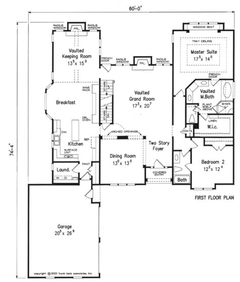 Frank Betz Floor Plans by Prestons Crossing House Floor Plan Frank Betz Associates