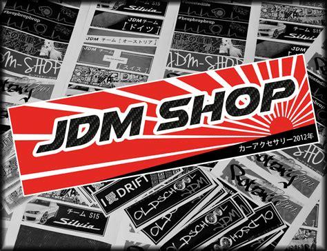 Jdm Aufkleber Bedeutung by Japan Style Aufkleber Quot Jdm Shop Rs Carbon Quot